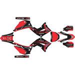 _Kit Completo Adesivi  Kit Restyling Polisport Honda CR 125/250 R 02-07 | SK-CR1225PLRKBKRD-P | Greenland MX_