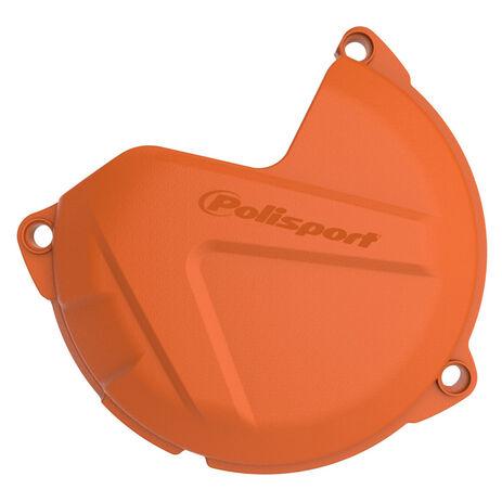 _Protezione Coperchio Frizione KTM SX 250 12-16 SX 300 13-16 EXC 250/300 13-16 Arancione | 8460200002 | Greenland MX_