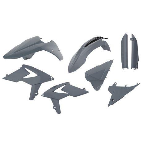 _Full Kit Plastiche Polisport Beta RR 2T/4T 13-17 Grigio | 90861-P | Greenland MX_