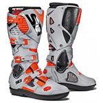 _Stivali Sidi Crossfire 3 SRS Arancione Fluo/ Grigio | BSD3215900 | Greenland MX_