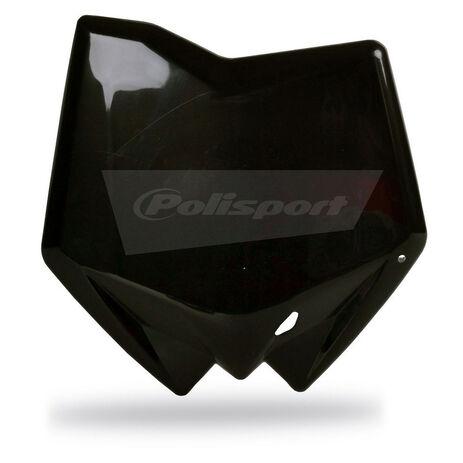 _Piastra Frontale Polisport Husqvarna CR 125/250 05-11 TC 250/310 05-11 TC 450/510 05-10 Nero | 8658200001 | Greenland MX_