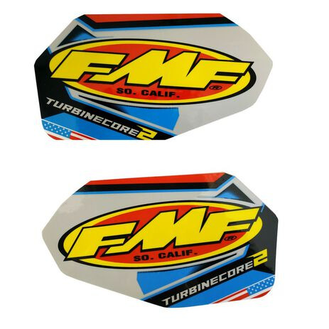 _Kit Adesivo Silenzioso FMF Turbine Core 2 | 012699 | Greenland MX_