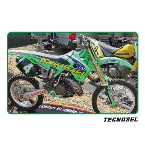 _Kit Adesivi Tecnosel Replica Team Kawasaki 1998 KX 125/250 94-98   24V02   Greenland MX_