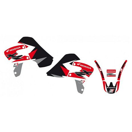 _Kit Adesivi Blackbird XR 650 00-09 | 2130A | Greenland MX_