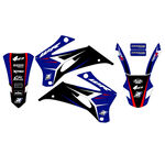 _Kit Adesivi Blackbird Dream 4 Yamaha WR 250 F 07-14 WR 450 F 07-11 | 2234N | Greenland MX_