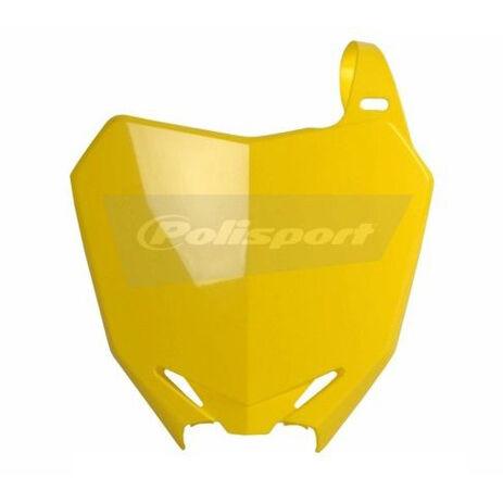 _Piastra Frontale Polisport Suzuki RMZ 250 10-15 RMZ 450 08-15 Giallo   8659300001   Greenland MX_