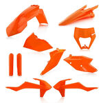 _Full Kit in Plastica Acerbis KTM EXC/EXC-F 17-19 Arancione 16 | 0023591.011.016-P | Greenland MX_