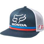 _Capello Fox Honda Snapback Blu Scuro | 22996-007 | Greenland MX_