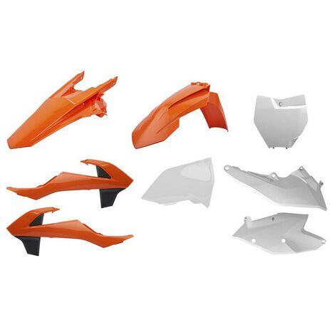 _Kit Plastiche Polisport KTM SX 125/144/250 SX-F 16-18 SX 250 17-19 OEM | 90750-P | Greenland MX_