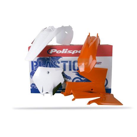 _Kit Plastiche Polisport KTM SX 85 06-12 Arancione/Bianco | 90451 | Greenland MX_