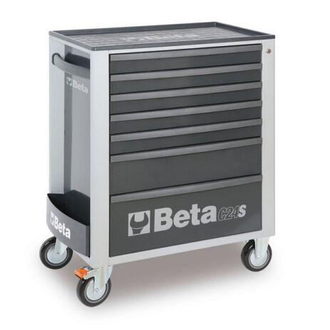 _Cassettiera Mobile con 7 Cassetti Beta Tools   C24S-7-G-P   Greenland MX_