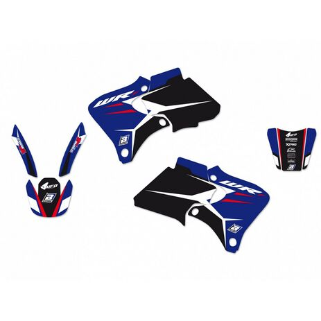 _Kit Adesivi Blackbird Dream 4 Yamaha WRF 250-400-426 98-02 | 2227N | Greenland MX_