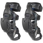 _Ginocchiere POD Active K8 Carbon Blu/Nero | K8013-01 | Greenland MX_