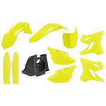 _Kit Plastiche Polisport MX Restyling Yamaha YZ 125/250 02-14 a 15-18 Giallo Fluo   90745   Greenland MX_