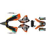 _Kit Completo Adesivi KTM EXC/EXC-F 08-11 WESS | SK-KTEXC0811WSBKOR-P | Greenland MX_