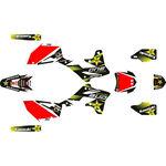 _Kit Completo Adesivi Kawasaki KX 250 F 13-16 Rockstar | SK-KX250F1316RKS-P | Greenland MX_