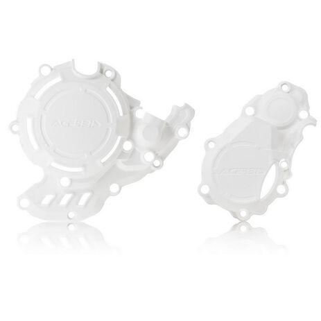 _Protezione Copercchio Frizione e Accensione Acerbis Kit X-Power Husqvarna/KTM FC/SX-F 250/350 16-21   0023573.030-P   Greenland MX_