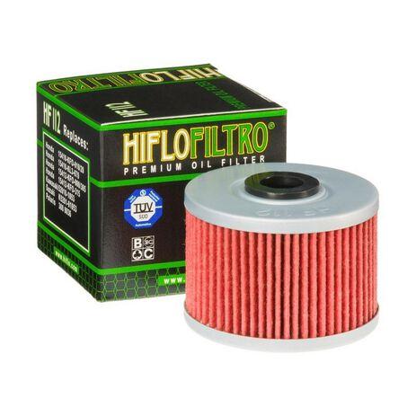 _Filtro Olio Hiflofiltro Kawasaki KX 450 F 06-15 Gas Gas FSR 450 08 | HF112 | Greenland MX_