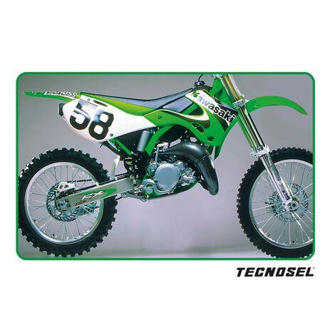 _ Copertina Sella Tecnosel Replica OEM Kawasaki 2000 KX 125/250 99-02 | 14V03 | Greenland MX_