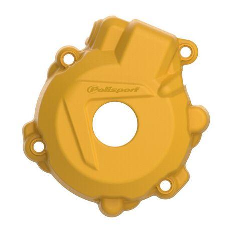 _Protezione Coperchio Avviamento Polisport KTM EXC-F 250/350 14-16 Husqvarna FE 250/350 14-16 Giallo | 8461300004-P | Greenland MX_