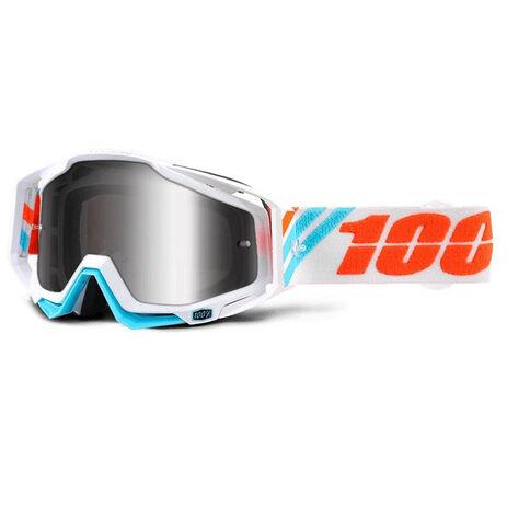 _Occhiali 100% Racecraft Calculus Ice Mirror Silver | 50110-205-02 | Greenland MX_