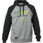 _Felpa Con Cappuccio Fox Monster Pro Circuit | 26563-185 | Greenland MX_