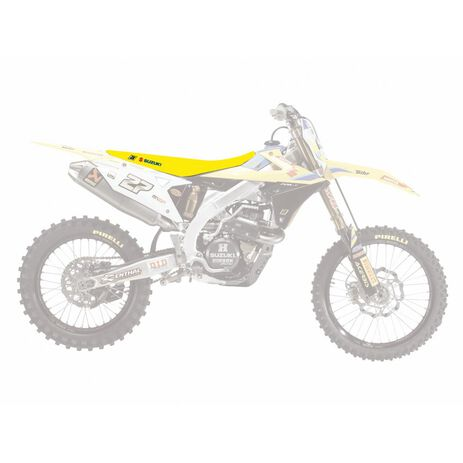 _Copertina Sella Blackbird Double Grip 3 Suzuki RMZ 250 19-.. 450 18-.. | 1331H | Greenland MX_