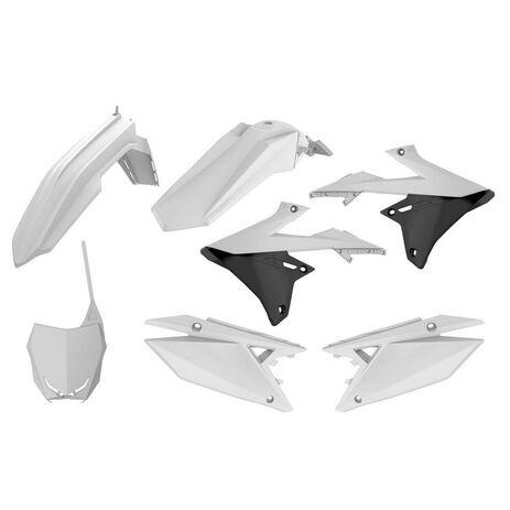 _Kit Plastiche Polisport Suzuki RMZ 250 19-20 RMZ 450 18-20 Bianco | 90764-P | Greenland MX_