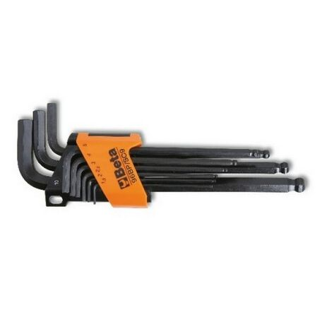 _Serie di 9 Chiavi Allen Maschio Esagonale Beta Tools | 96BP-SC9 | Greenland MX_