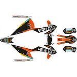 _Kit Completo Adesivi KTM EXC/EXC-F 20 WESS | SK-KTEXC20WSORBK-P | Greenland MX_