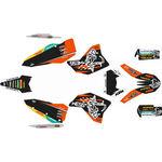 _Kit Completo Adesivi KTM EXC/EXC-F 08-11 WESS | SK-KTEXC0811WSORBK-P | Greenland MX_