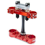 _Piastre Forcella Neken SFS Honda CRF 250 R 18 CRF 450 R 17-18 (Offset 22mm) Rosso | 0603-0750 | Greenland MX_