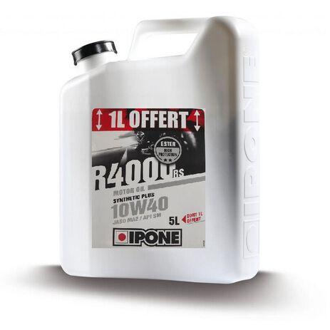 _Olio Ipone R-4000 10W-40 4+1 Litri | LIP-1121 | Greenland MX_