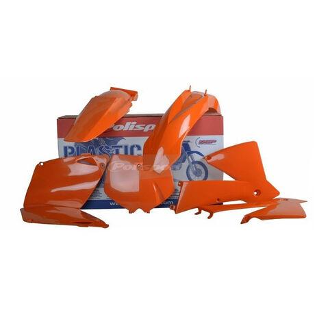 _Kit Plastiche Polisport KTM EXC/EXC-F 01-02 Arancione | 90652 | Greenland MX_