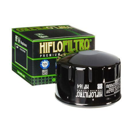 _Filtro Olio Hiflofiltro BMW R1200 GS 04-12 | HF164 | Greenland MX_