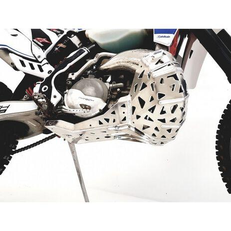 _Paracoppa con Protezione Scarico P-Tech  KTM EXC 250/300 07-16 HVA TE 250/300 14-16 | PK001 | Greenland MX_