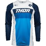 _Maglia Thor Pulse Racer Bianco/Blu Navy | 2910-617BAM-P | Greenland MX_