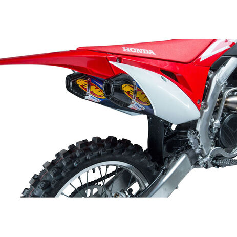 _Silenziatore FMF Factory 4.1 RCT Dual Slip-On Honda CRF 450 R/X 17-.. | 041550 | Greenland MX_