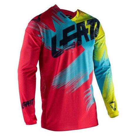 _Maglia Leatt GPX 4.5 Lite Rosso/Lima | LB5019011280P | Greenland MX_