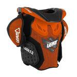 _Pettorina Bambino Leatt Fusion 2.0 Arancione/Nero | LB101401000P | Greenland MX_
