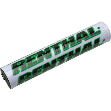 _Protezione Manubrio Renthal Barra Bianco/Verde | P267 | Greenland MX_