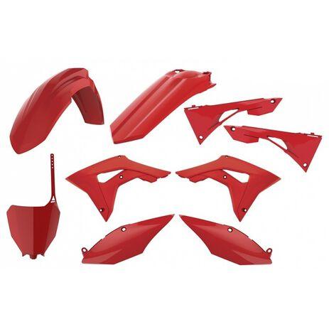 _Kit Plastiche Polisport Honda CRF 250 R 18-20 CRF 450 R 17-20 Rosso | 90722-P | Greenland MX_