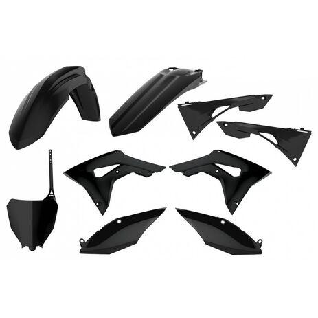 _Kit Plastiche Polisport Honda CRF 250 R 18-20 CRF 450 R 17-20 Nero | 90721-P | Greenland MX_
