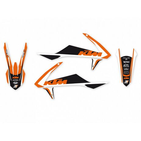 _Kit Completo Adesivi Blackbird Dream 4 KTM SX/SXF 16-18  EXC 17-19 | 8541N | Greenland MX_